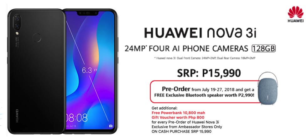 Huawei Nova 3i Additional