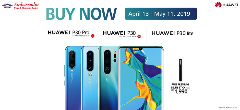 Huawei P30 Series Buy Now