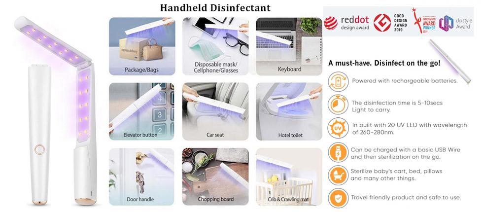 Handheld Disinfectant