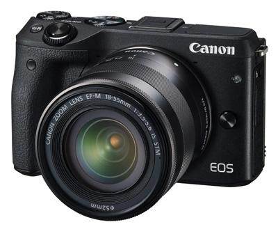 Canon EOS M3 - 1