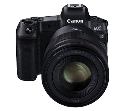 Canon EOS R Mirrorless Camera (RF24-105mm f/4L IS USM)