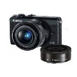 Canon EOS M100 Mirrorless Camera Kit (EF-M15-45 IS STM & EF-M22 STM)