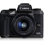 Canon EOS M5 Mirrorless Camera (EF-M15-45 IS STM)