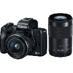 Canon EOS M50 Mirrorless Camera Kit (EF-M15-45 IS STM & EF-M55-200 IS STM)