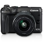 Canon EOS M6 Mirrorless Camera (EF-M15-45 IS STM)